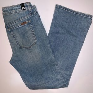NEW Joe's Jeans Bootcut Distressed Jeans